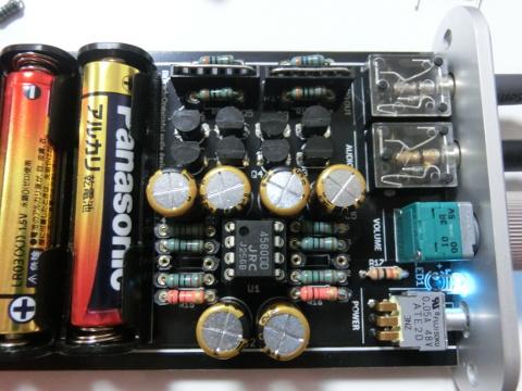普通の電圧アンプ化